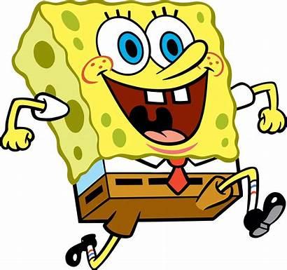 Spongebob Running Transparent Check