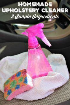 Cleaning Upholstery Diy by Best 20 Car Upholstery Cleaner Ideas On Clean