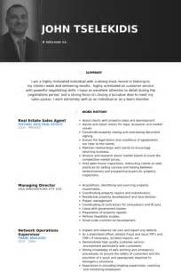 real estate resume sles sales resume sles visualcv resume sles database
