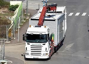Lkw Vermietung Bonn : scania 500 spedition apelrath mit fertigbauteilen b rocontainer und garage in bonn ~ Markanthonyermac.com Haus und Dekorationen