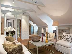 Wll, Designed, Attic, Living, Room, 7778