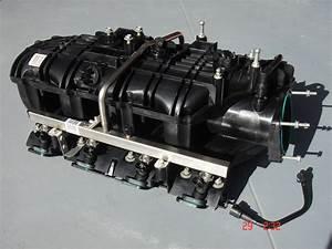 14 U0026 39  6 0l    6 2l Rec Port Intake Manifold W   Injectors