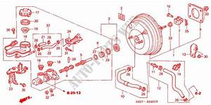 Brake Master Cylinder   Master Power  Rh   2  For Honda