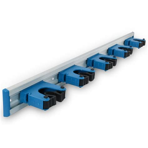 heavy duty wall mounted hang up 5 bracket organizer unger professional