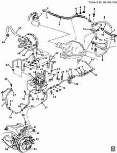 1988 Chevrolet S10 Brake Lines