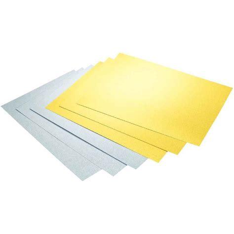 papier bureau papier dessin a4 300g or argent bloc de 10 feuilles n c