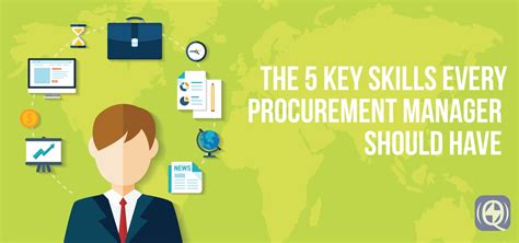 key skills   procurement manager