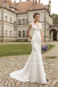 brautkleider princess v neck lace mermaid wedding dresses 2017 lace up sleeveless simple bridal gowns wedding dresses