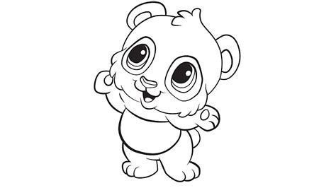 panda coloring pages learning friends panda coloring printable