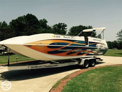 Deck Boat Advantages by 2005 Used Advantage Cat 28 Xl Deck Boat For Sale