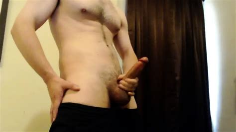 Hot Guy W Athletic Body Strokes Big Cock To Cumshot