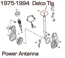 Cadillac Delco Power Antenna Mast Tip Brand New