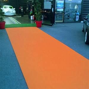 Moquette Stand Event Orange Moquette