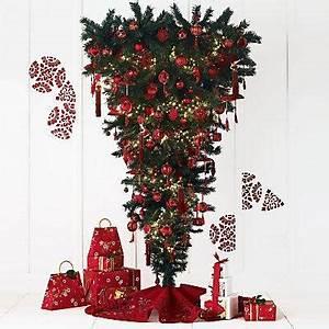 Standing Upside Down Alternative Christmas Trees