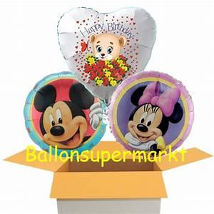 Mickey Mouse Geburtstag : ballonsupermarkt 3 luftballons zum geburtstag minnie und mickey mouse ~ Orissabook.com Haus und Dekorationen