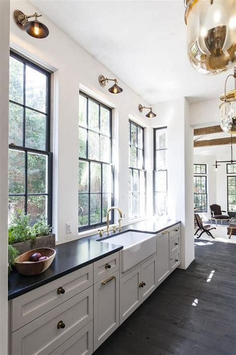 Tabulous Design: Modern Farmhouse: Black Windows