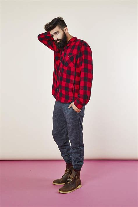 53 best Menu0026#39;s Flannel Shirts images on Pinterest | Man style Male fashion and Men fashion