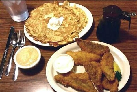 Friday Fish Fry Great Potato Pancakes!  Picture Of