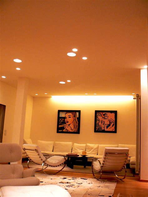 faretti soggiorno usare la luce per arredare i faretti led a incasso