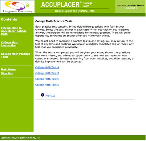 Accuplacer College Math Online Course And Practice Tests  Prepare Now  Save Money And Time