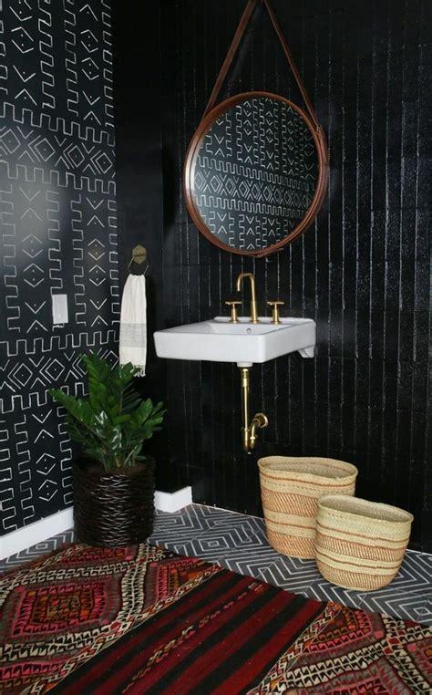 la beaute de la salle de bain noire en  images