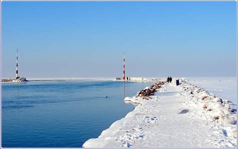 Panoramio - Photo of Winter Balaton - Siófok Hungary