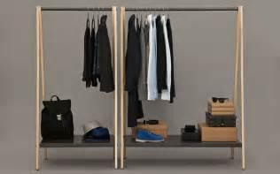 Simons Furniture by Toj Clothes Rack Stylish Wardrobe Furniture In Grey
