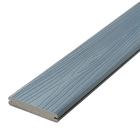 Trex Decking Pricing Home Depot by Fiberon Horizon 15 16 In X 5 1 4 In X 16 Ft Castle Gray