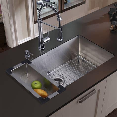 undermount kitchen sinks for sale vigo 30 inch undermount single bowl 16 stainless