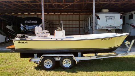 Used Aluminum Fishing Boats For Sale In Ga by 1977 Used Shamrock 200 Cc Center Console Fishing Boat For