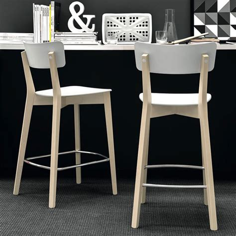 chaise hauteur 65 cm connubia calligaris jelly bar stool