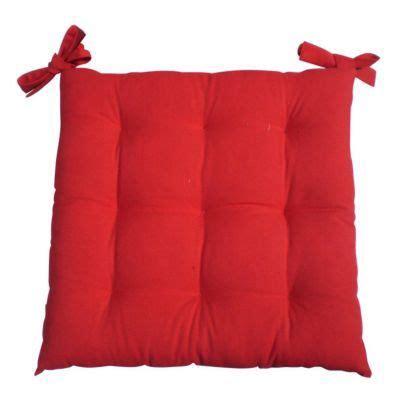 galettes de chaises déhoussables galette de chaise 40 x 40 cm castorama
