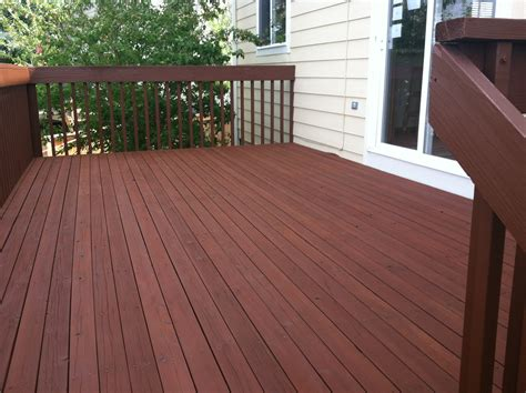 Cabot Semi Solid Deck Stain Two Coats by Cabot Deck Stain In Semi Solid Oak Brown For Cottage