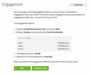 How to create an engagement engage for Cpa review engagement letter