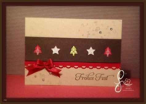 weihnachtskarten selber basteln vorlagen huebscher november