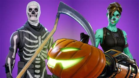 fortnite battle royale halloween update spooky skins