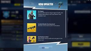 Coming Soon Guided Missile Fortnite INTEL