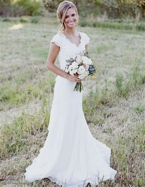 Rustic Country Lace Wedding Dresses Naf Dresses