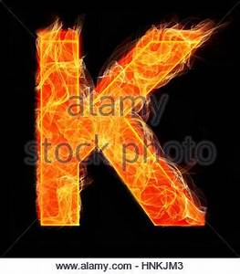 Burning alphabet letters and numbers isolated silhouettes ...