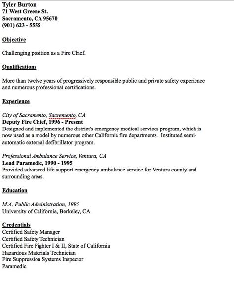 department chief cover letter exle of chief resume http resumesdesign