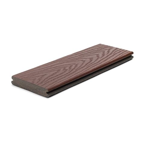 Trex Select Decking Dimensions by Trex 20 Ft Select Composite Capped Grooved Decking