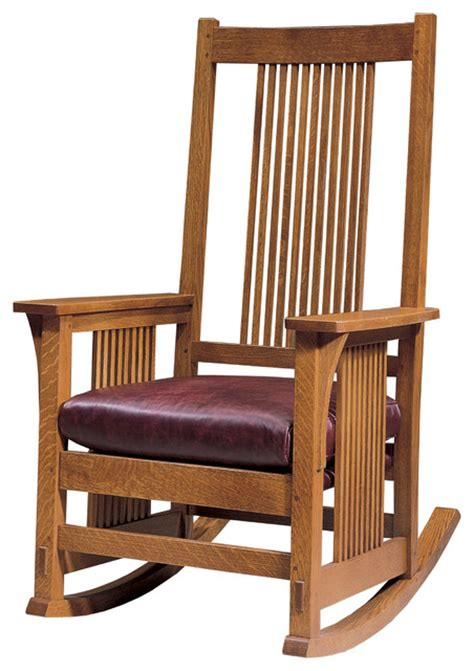 Stickley Rocking Chair Plans by Stickley Spindle Rocker 89 91 376 R