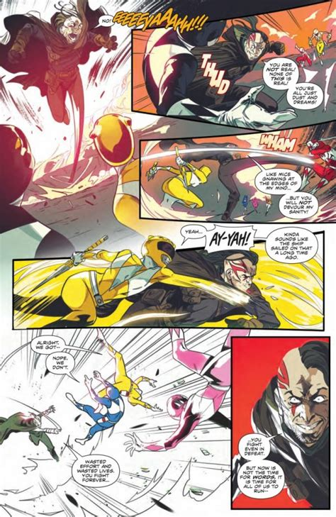 Comic Book Preview - Mighty Morphin Power Rangers #51