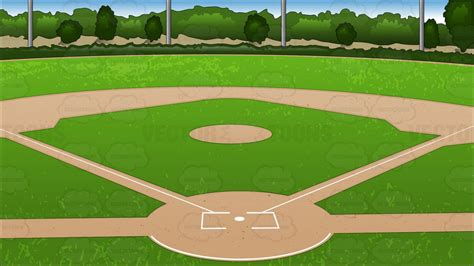 Baseball Field Clipart Baseball Background Clipart By Vector