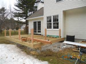 Deck Framing Complete Allen Remodeling Ideas Porch Roof Framing