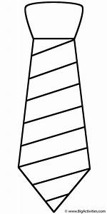 neck tie with stripes coloring page 39 s day