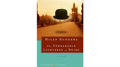 milan kundera the unbearable lightness of being the unbearable lightness of being by milan kundera