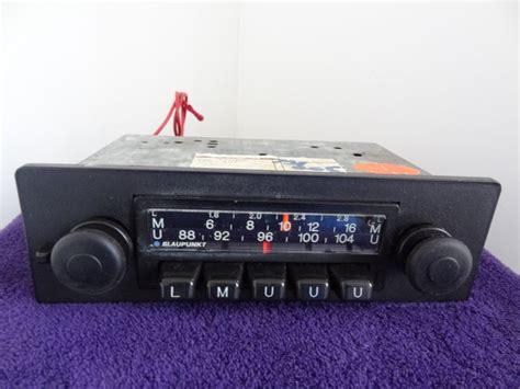 Vintage Car Radio Blaupunkt Type Nurnberg From The 1960s