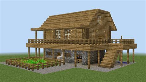 how to build a house minecraft how to build a farm house