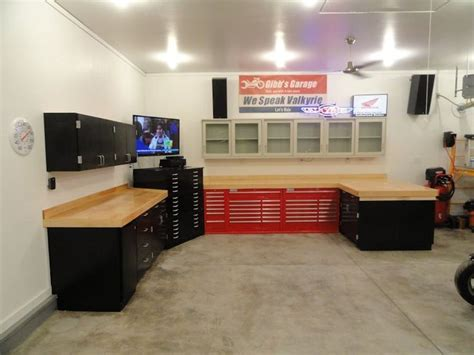 Garage Cabinets Garage Journal by The Garage Journal Board Lets See Your Workbench